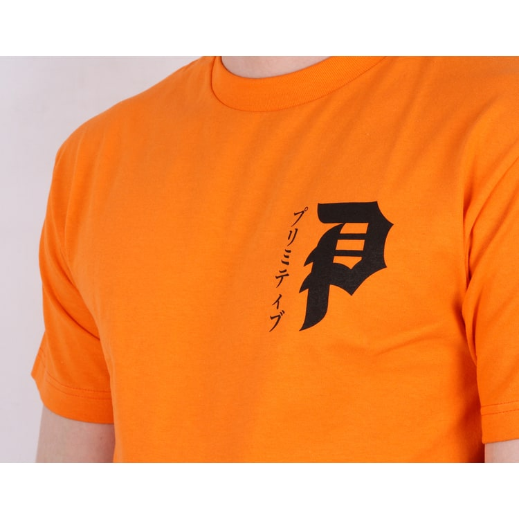 Primitive Tiger T shirt - Orange