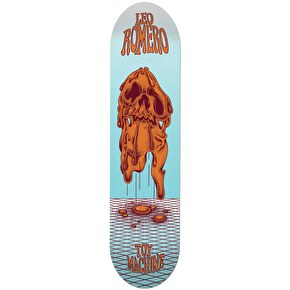Toy Machine Skateboard Deck - Face Melt Romero 8