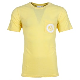 WeSC Icon Circle Mini T shirt - Banana Cream