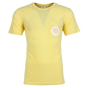 WeSC Icon Circle Mini T-Shirt - Banana Cream