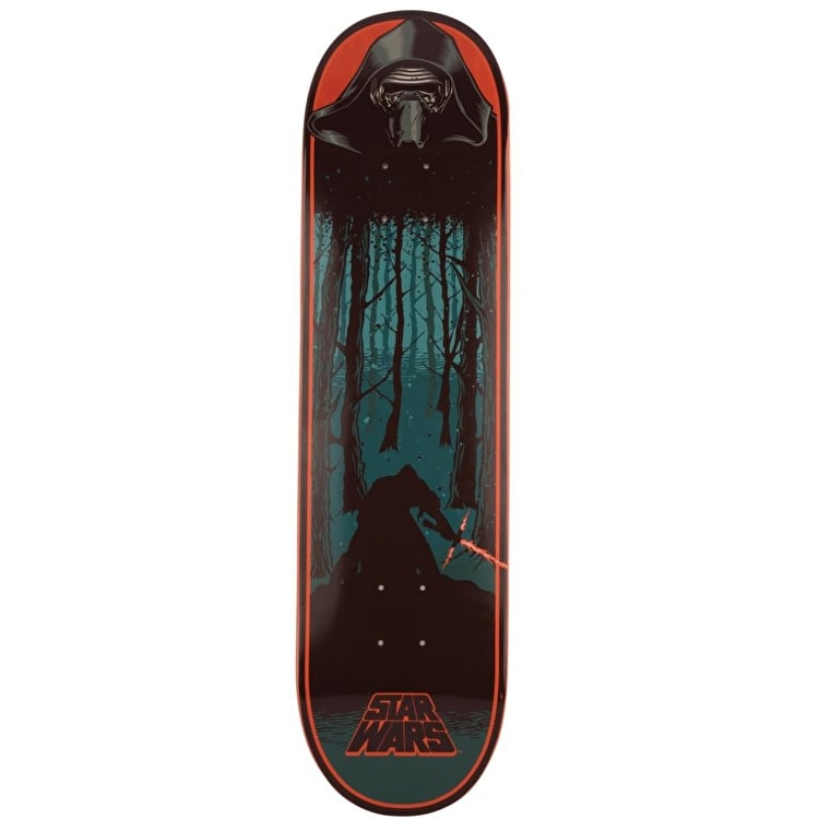 Santa Cruz x Star Wars Skateboard Deck - Episode VII Kylo Ren 8.26""