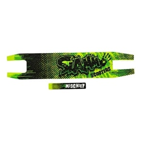 Slamm Die Cut Scooter Griptape - Green