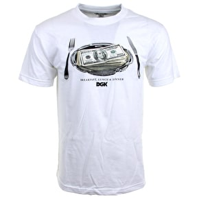 DGK Meal Time T-Shirt - White