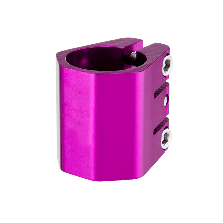Phase Two - 35mm Triple Coffin Clamp - Purple