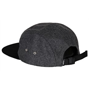 WeSC Rickon 5 Panel Cap - Grey Melange