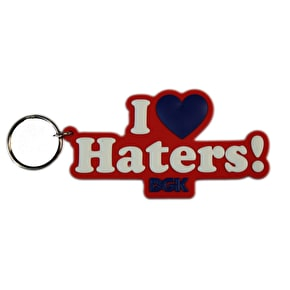 DGK Haters Key Ring - Red