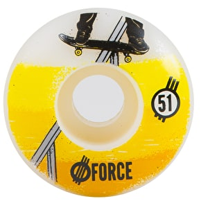 Force Spot Skateboard Wheels - Rail (Pack of 4)