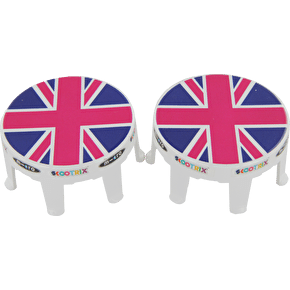 Micro Wheel Whizzers- Pink Union Jack
