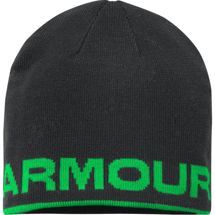 Under Armour Kids Reversible Beanie- Green