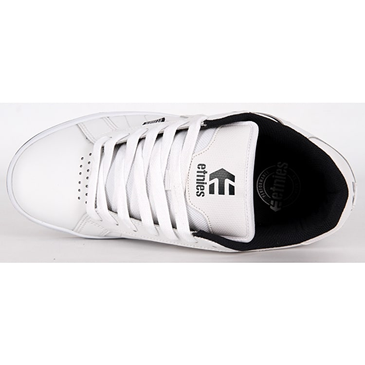 Etnies Fader 2 Skate Shoes - White/Navy