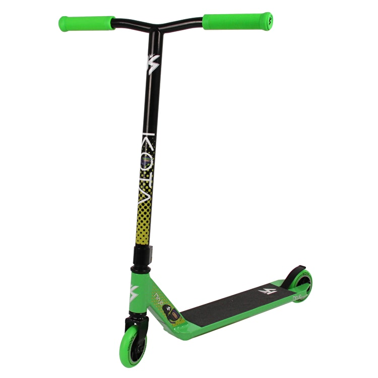 Kota Ninja Complete Scooter - Green/Black