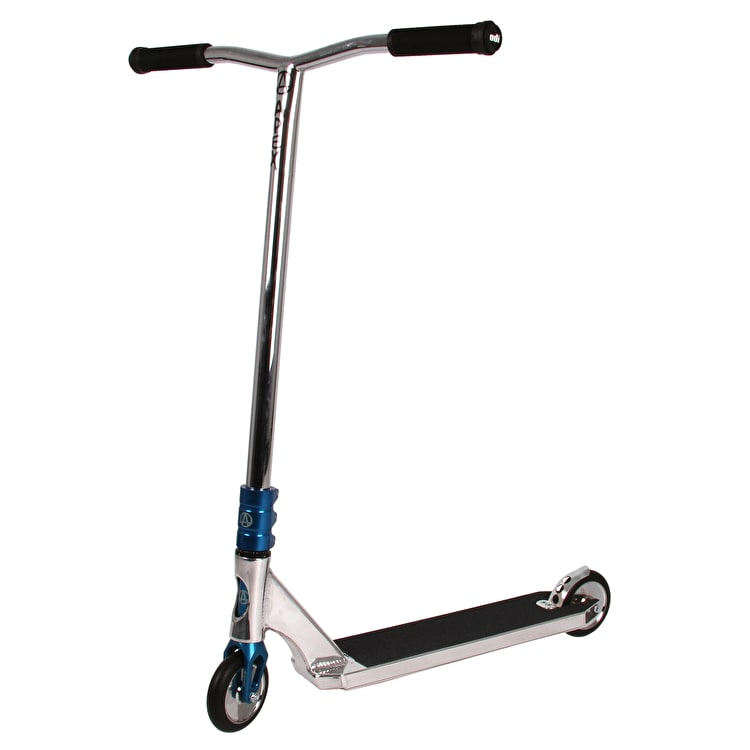 Apex Pro Custom Stunt Scooter - Polished/Blue