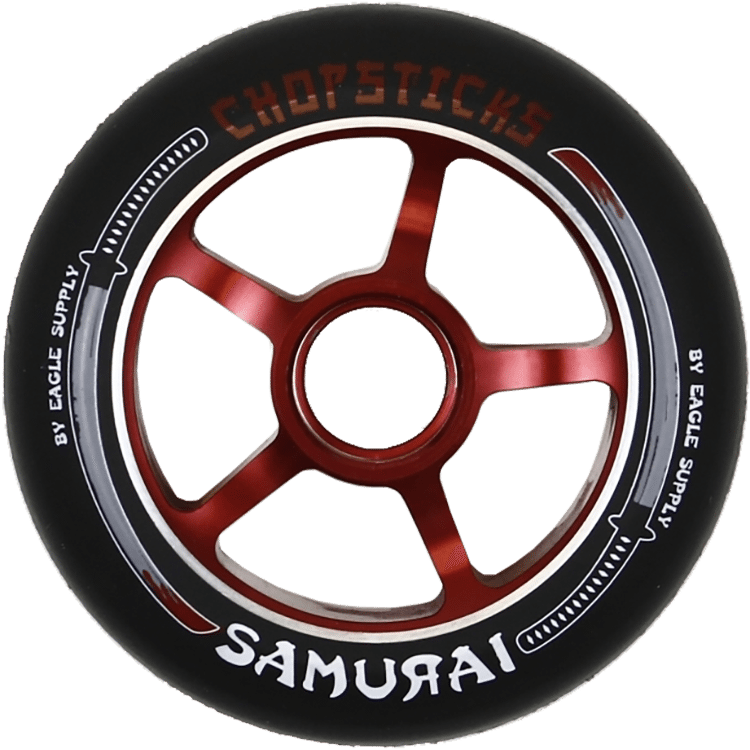 ChopSticks Samurai 100mm Wheel - Black PU