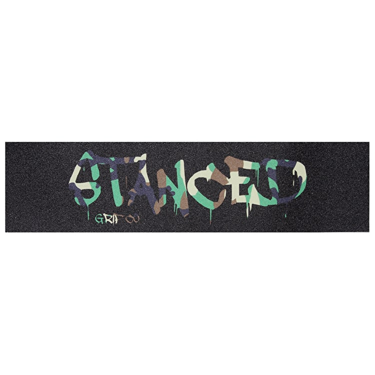 "Stanced Logo Scooter Grip Tape - Camo 22"" x 5"""