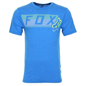Fox Moth Dots T-Shirt - Heather Blue