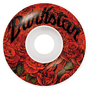 Darkstar Roses Skateboard Wheels - Red 53mm