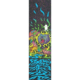 Grizzly Black Light Skateboard Grip Tape - Multi