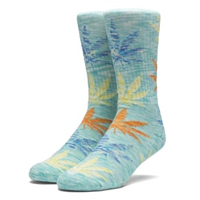 Huf Full Melange Plantlife Socks - Mint