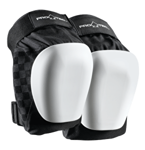 Pro-Tec Drop In Knee Pads- Black/White