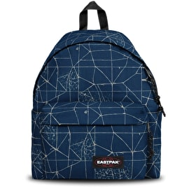 Eastpak Padded Pak'R Backpack - Cracked Blue