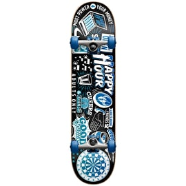 Darkstar Onward First Push Complete Skateboard - Ice Blue 7.875