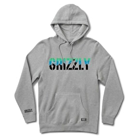 Grizzly Stamp Dawn Hoodie - Heather Grey