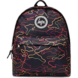 Hype Stroke Camo Backpack - Multi