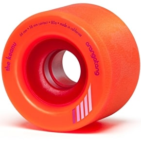 Orangatang Keanu 66mm Longboard Wheels - Orange (Pack of 4)