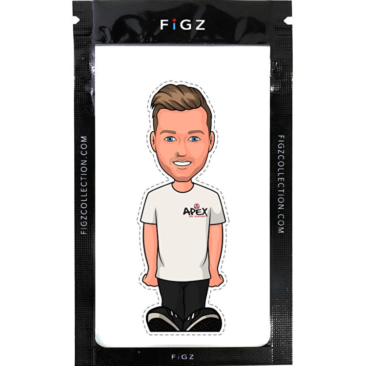 FIGZ Collection Cooper Elgar Rider Sticker