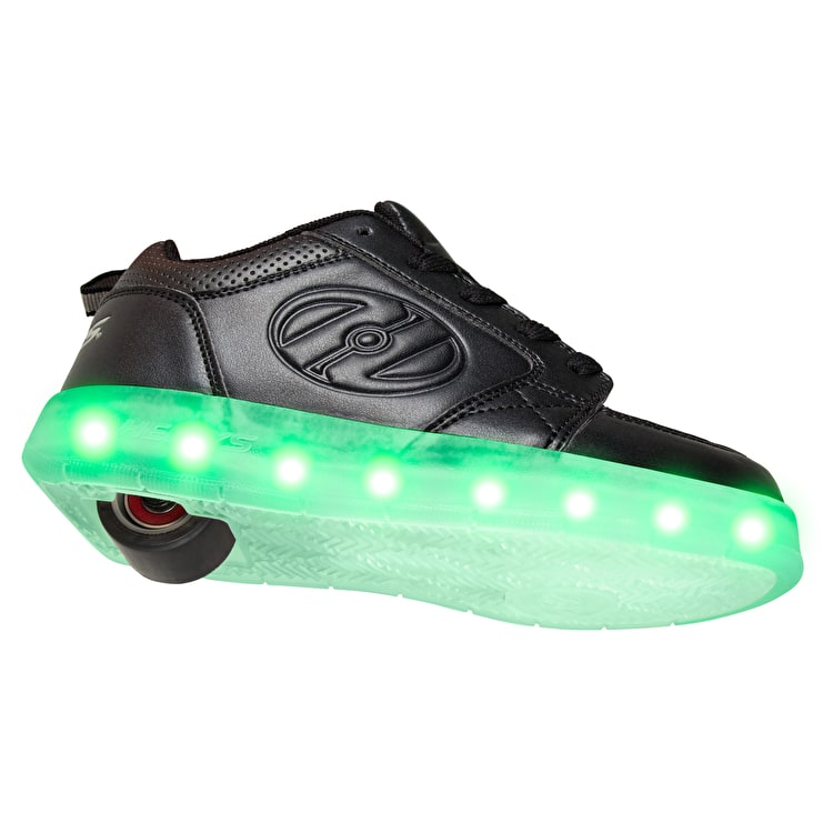 Heelys Premium 1 Lo Light Up - Triple Black
