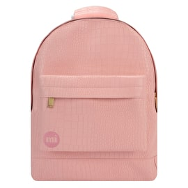 Mi-Pac Mini Matt Crock Backpack - Pastel Pink