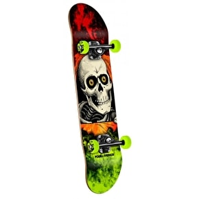 Powell Peralta Skateboard - Storm Ripper Red/Green 8