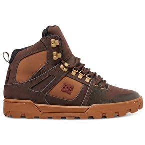 DC Spartan High WR Shoes - Brown