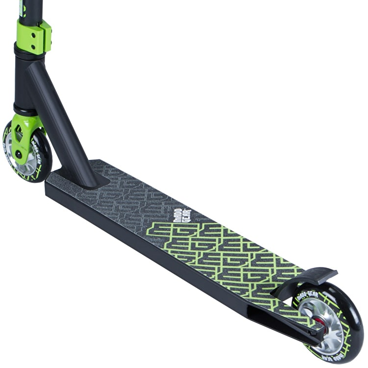 Madd Kick Extreme II Complete Scooter - Black/Lime