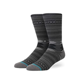 Stance Guadalupe Socks - Charcoal