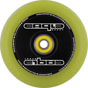 Eagle Hollow Tech Signature Core Yellow PU Wheel - 100mm