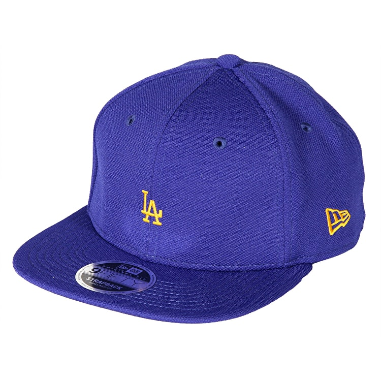 New Era 9FIFTY LA Border Edge Pique Cap - Blue/Gold