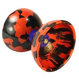 Juggle Dream Jester Diabolo Pro Pack w/DVD - Black/Red