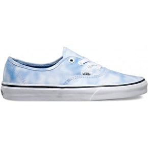 B-Stock Vans Authentic Shoes - (Tie Dye) Palace Blue UK 4 (Box Damage)