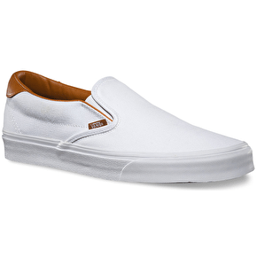Vans Slip-On 59 Shoes - (Washed C&L) True White