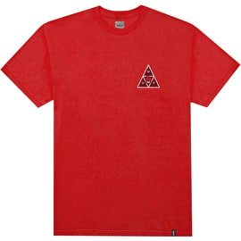 Huf X Spitfire TT T Shirt - Red