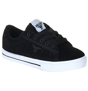 Fallen Bomber Kids Shoes - Black/White