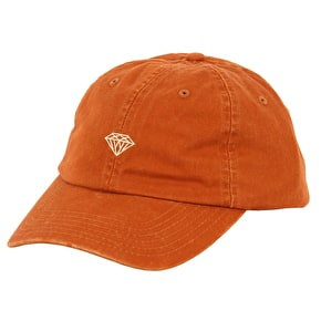 Diamond Brilliant Sports Cap - Burnt Orange