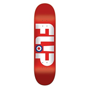 Flip Modyssey Logo Skateboard Deck - Red 8.13