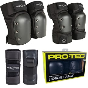 B-Stock Pro-Tec Street Youth complete Padset - Small (Box Damage)