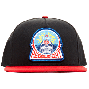 Rebel8 Rebel Transmissions Snapback Cap - Black/Red