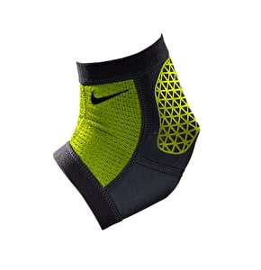 Nike Pro Combat Hyperstrong Ankle Sleeve- Volt