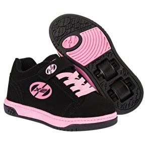 B-Stock Heelys X2 Dual Up - Black/Pink - UK 3 (Box Damage)