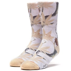 Huf Digi Camo Socks - White