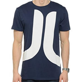 WeSC Biggest Icon SS  T-Shirt - Blue Iris